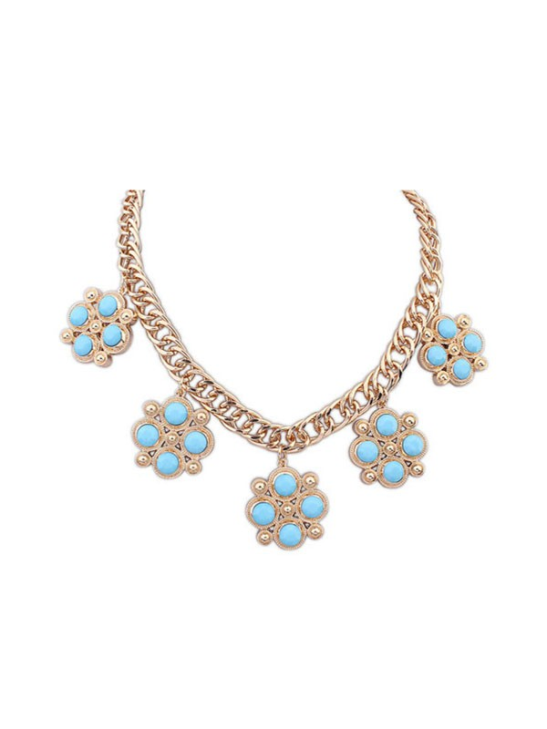Occident Sweet Fashionable Candy Colors All-match Hot Sale Halskette